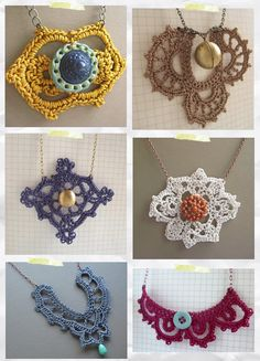Looks like I am going to have to start a new board on Crochet.  Love these