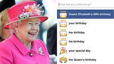 Post a royal status update.