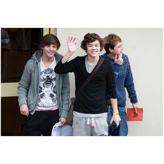 One Direction at Fountain Studios - Pictures - Zimbio found on Polyvore