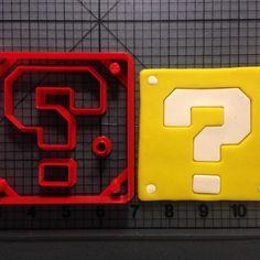 Super Mario – Question Block Cookie Cutter Set