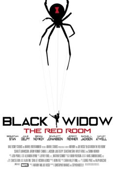 "herochan: ""Black Widow: The Red Room - Fan Art Posters Series by Victoria Jaspers """