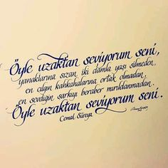 Cemal Süreya Cool Words, Karma, Poems, Calligraphy, Love, Feelings, Quotes, Quote, Amor