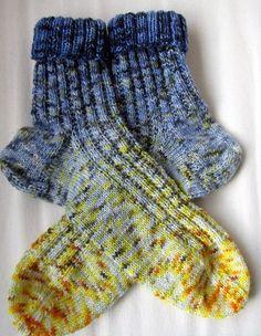 Blue/Yellow socks