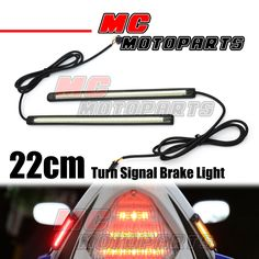 22963 motorcycle-parts Rear Tail Brake Turn Signal LED Strip Lights 220mm For Universal Harley Davidson  BUY IT NOW ONLY  $38.8 Rear Tail Brake Turn Signal LED Strip Lights 220mm For Universal Harley Davidson... Led Strip, Strip Lighting, Motorcycle Parts, Harley Davidson, Lights, Lighting, Lamps, Candles, String Lights