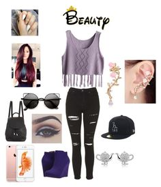 """""""Untitled #267"""" by emilyagustin on Polyvore featuring beauty, Topshop, Michael Antonio, rag & bone and Belec"""