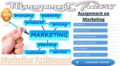 The Students Writing  #Marketing_assignment, need to be aware of the main concepts related to  #Assignment_on _marketing, which form the basis of all #Marketing_to_students,  strategies.  Visit here https://www.managementtutors.com/Marketing-Assignment-Help
