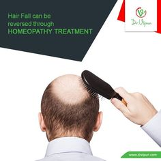 Hair fall can be reversed through Homeopathy Treatment.  http://www.drvipun.com/