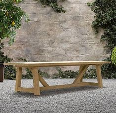 Provence Beam Rectangular Dining Table