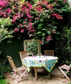 tuck away a table in a nook