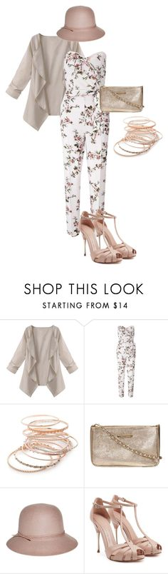 """""""Jumpsuit Outfit"""" by x-quirkyqueen-x on Polyvore featuring Miss Selfridge, Red Camel, Dorothy Perkins, Nine West and Alexander McQueen"""