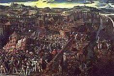 1525-Slag bij Pavia, Karel verslaat Frankrijk en krijgt Italiaanse bezittingen-
