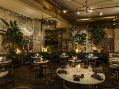 Inside Chinese Tuxedo, the New Hot Spot Shaking Up Chinatown with an Australian Twist Restaurants In Nyc, Romantic Restaurants, Downtown New York, Chinese Restaurant, Restaurant Design, Restaurant Bar, Iron Doors, Commercial Interiors, Fine Dining