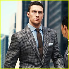 Aaron Taylor-Johnson Models Suits