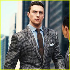 Aaron Taylor-Johnson Models Suits