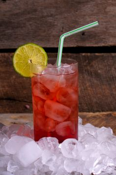 Tootie Fruity: 1 ounce vodka 1/2 ounce triple sec Equal parts grenadine, orange juice & pineapple juice, garnish with a cherry