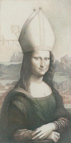 II. The High Priestess - Da Vinci Tarot