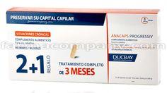 Ducray+Anacaps+Progresiv+Unisex+Anticaida+Cabello+Tratamiento+3+Meses+3x30+Capsulas+en+Farmacompany.com