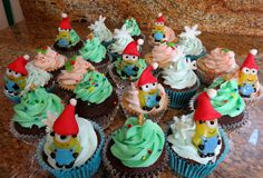 Cupcakes for Santa Giveaway at the community center--December 2015