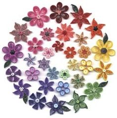 Quilling kits include basic instructions, patterns, ideas and coordinating quilling paper. Q40-16