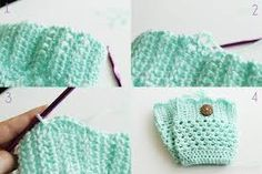 crochet boot cuffs free pattern -