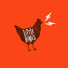 Little Bones restaurant food truck branding by One Plus One