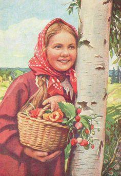 «Девочка с цветами и ягодами» (1958) | Arzamas