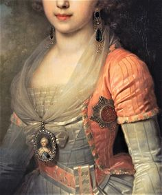 Grand Duchess Alexandra Pavlovna by Vladimir Lukich Borovikovsky  - Click to enlarge