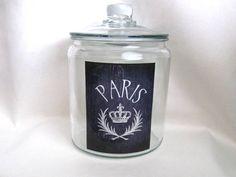 Paris Jar Paris Decor French Country Home by parismarketplace, $20.00