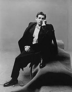 Leonard Bernstein, 1948. Photographed by Irving Penn.