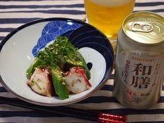 タコとオクラのさっぱり♪梅和え|レシピブログ