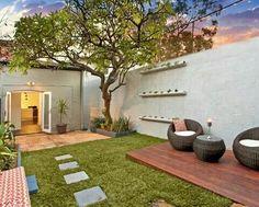 terraza jardn plantas masetas jardineras