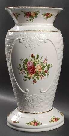 Royal Albert Old County Roses Basketweave at Replacements, Ltd