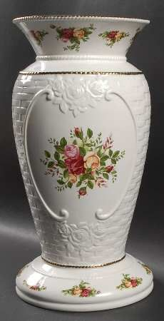 Royal Albert Old County Roses Basketweave at Replacements, Ltd