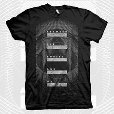 BETWEEN THE BURIED AND ME SHIFT SHIRT IN BLACK