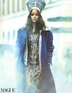 So Vogue! Rihanna proved her reign as one of the world's most stylish women is far from over as she wowed on the cover of Vogue Arabia