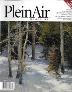 Plein Air magazine Outdoor painting Historic artists Pastels and oils Landscapes