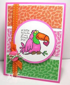 Toucan of Friendship 2.13 by eliotstamps - Cards and Paper Crafts at Splitcoaststampers