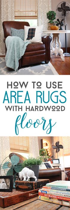 How to Use Area Rugs with Hardwood Floors with Rugs USA's Tuscan Trellis rug!