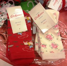 Keeps those tootsies cosy this Christmas with Cath Kidston bed socks!!