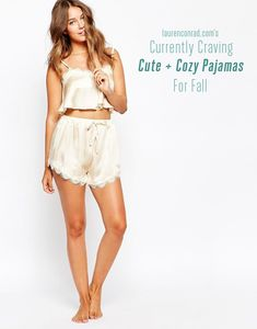 Lauren Conrad's Favorite Cute Pajamas to keep you cozy this season!