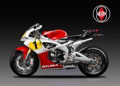 Motosketches: GILERA ARGENTINA  600 RR4