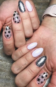 In look for some nail designs and ideas for your nails? Here's our list of must-try coffin acrylic nails for stylish women. Almond Acrylic Nails, Best Acrylic Nails, Oval Nails, Pink Nails, Perfect Nails, Gorgeous Nails, Trendy Nails, Cute Nails, Grunge Nails