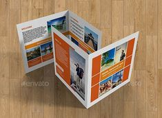 Travel Square Brochure-V214 template for travel agencies