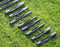 aeration tines for golf greens #tines #jrm #jrmturfproducts #aerify #aerification #quadtines #needletines #solidtines #coringtines