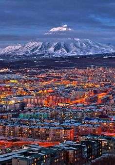 Petropavlovsk-Kamchatsky, Kamchatka Peninsula,Russia