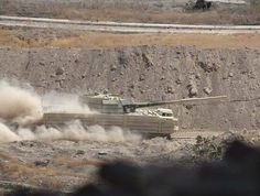 SAA spaced armored T-72 in Jobar.