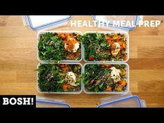 Quick, Easy, Healthy Meal Prep | BOSH! | VEGAN - YouTube