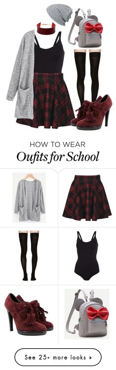 """School"" by clevver on Polyvore featuring Marieyat, Amrita Singh and Yves Saint Laurent"