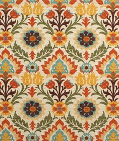 Shop Waverly Santa Maria Adobe Fabric at onlinefabricstore.net for $19.55/ Yard. Best Price & Service.