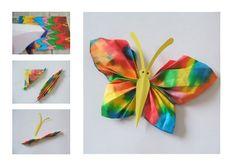 como fazer mobile de borboleta de papel - Pesquisa Google
